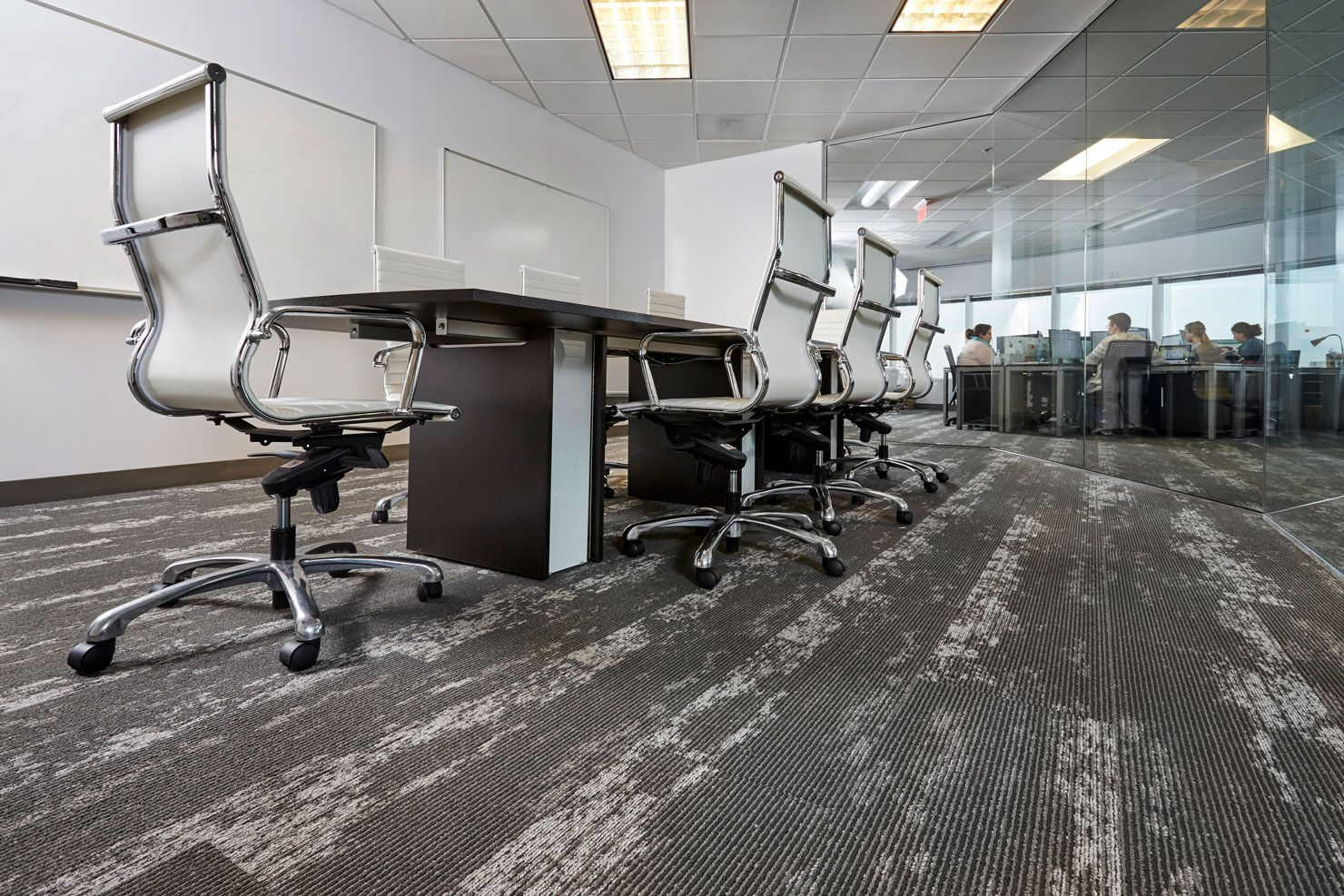 Corporate flooring project bluetube mohawk group for Mohawk flooring locations