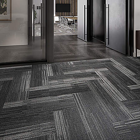Mohawk Modular Carpet Tile Installation