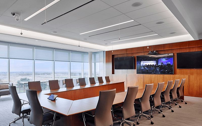 Commercial flooring project fedex corporate hq mohawk group for Mohawk flooring headquarters
