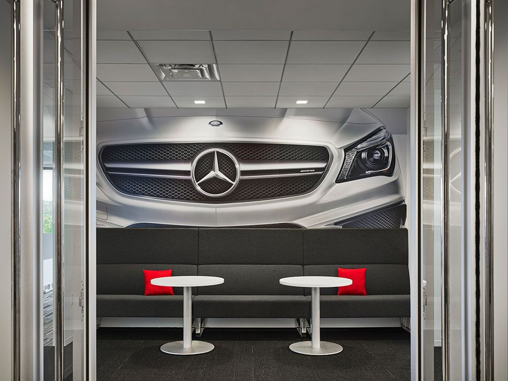Mercedes Benz Usa Hq Corporate Flooring Installation Mohawk
