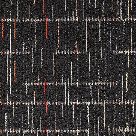 Mohawk Epsom 24 x 24 Carpet Tile in Black Velvet