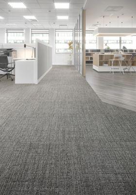 Carpet Tile Interthread Tile Light Slate Mohawk Group