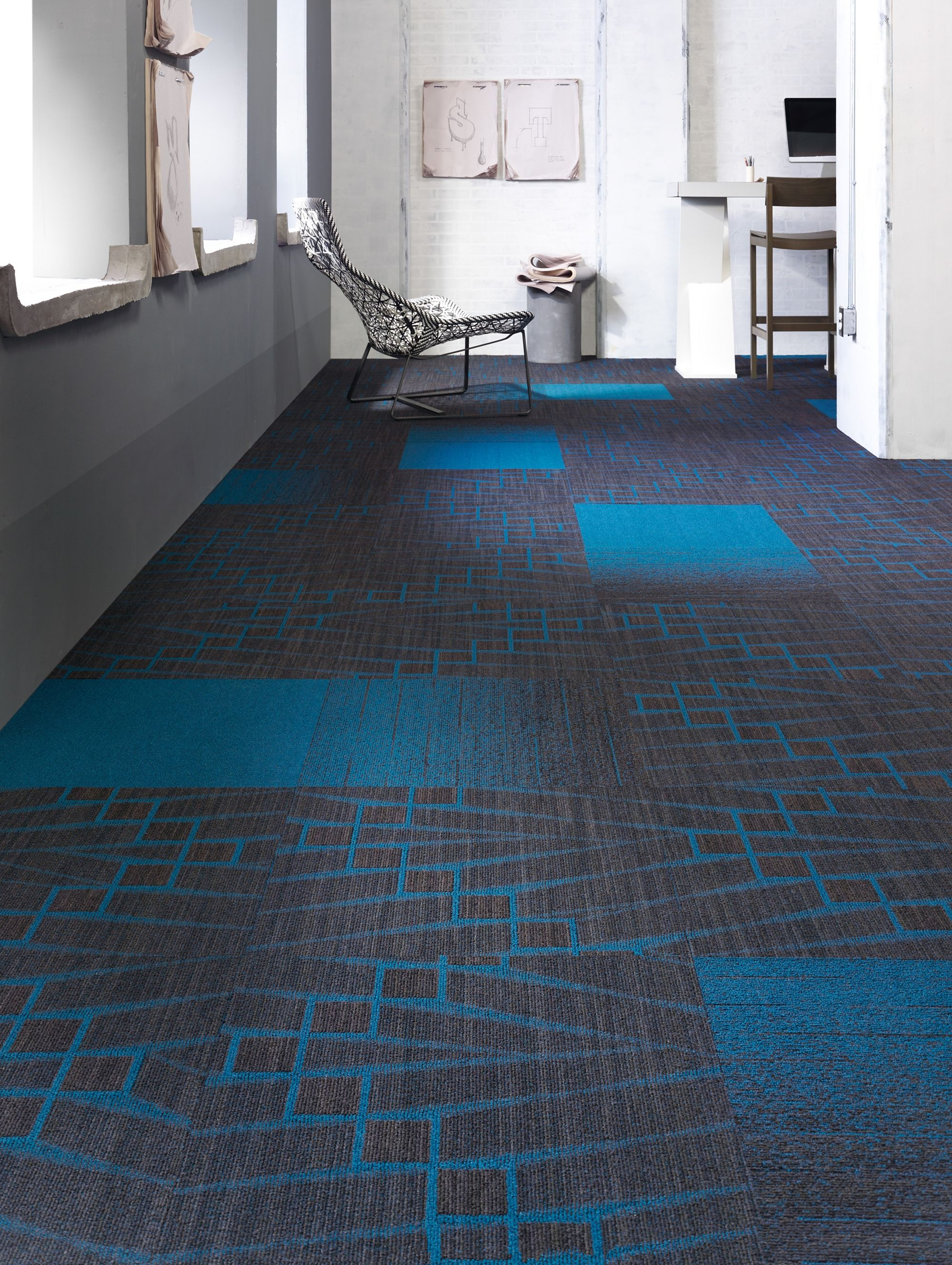 Carpet Tile - Off The Wall Tile - Cool | Mohawk Group