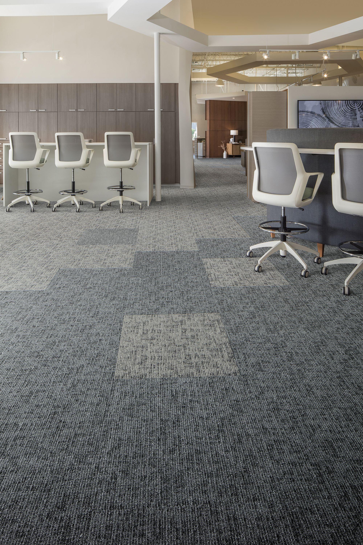 Carpet Tile Shaded Lines Tile Light Elm Mohawk Group