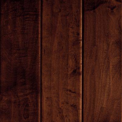 Brindisi Plank Hardwood Dark Auburn Maple Hardwood