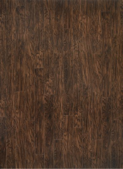 Coffee Handscraped Hickory 10mm