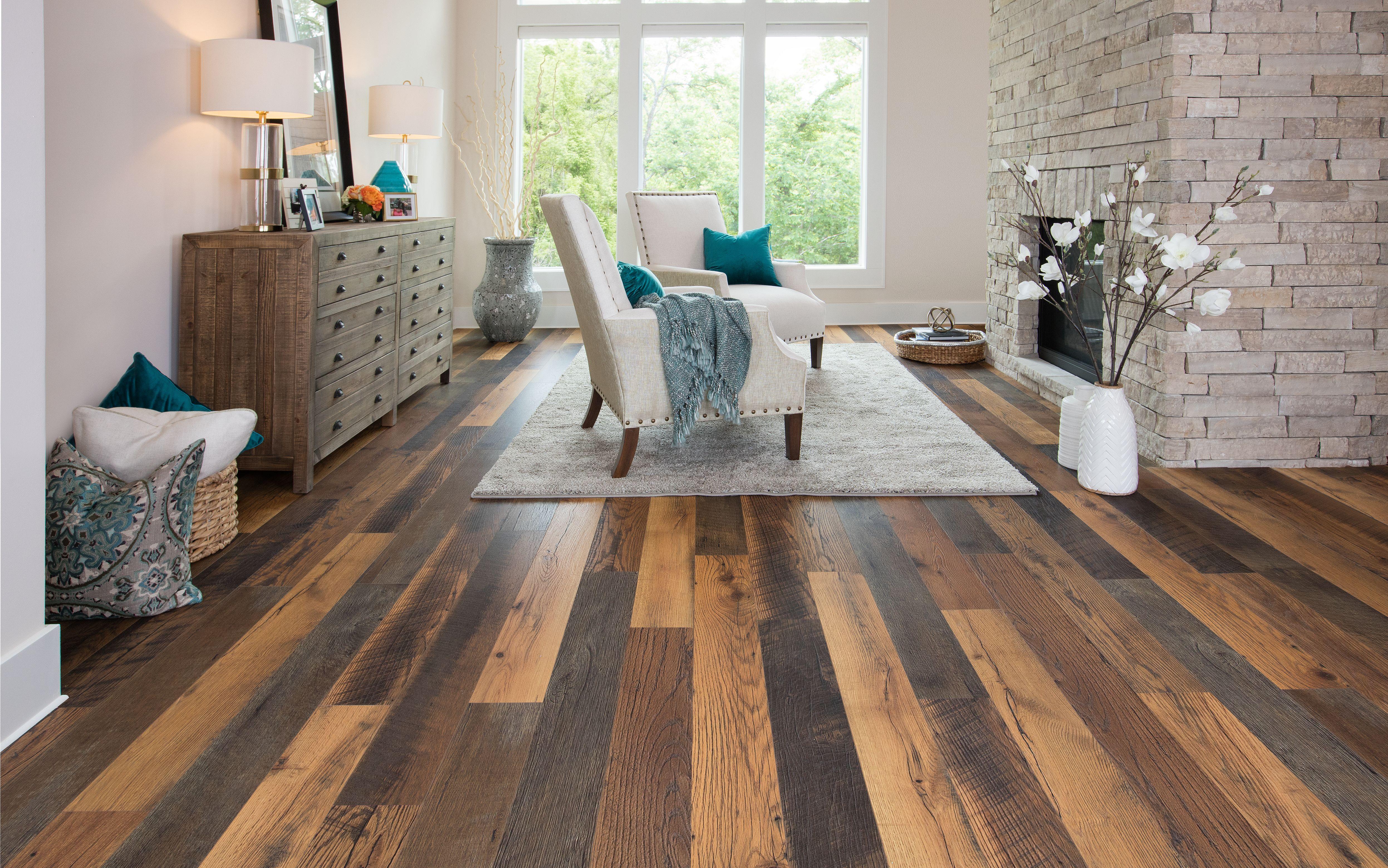 Reclaimed Barnwood Pergo TimberCraft Laminate Flooring