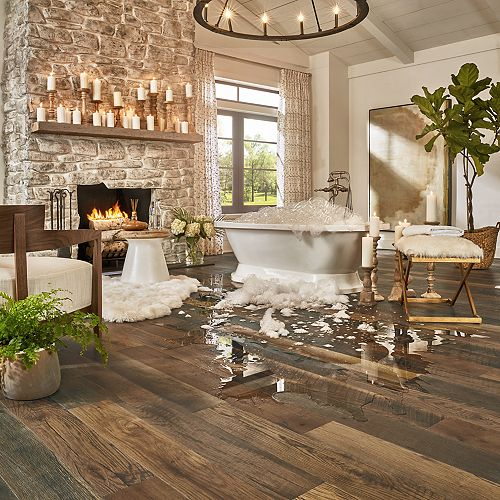 Antique Barnwood Pergo Timbercraft Wetprotect Laminate