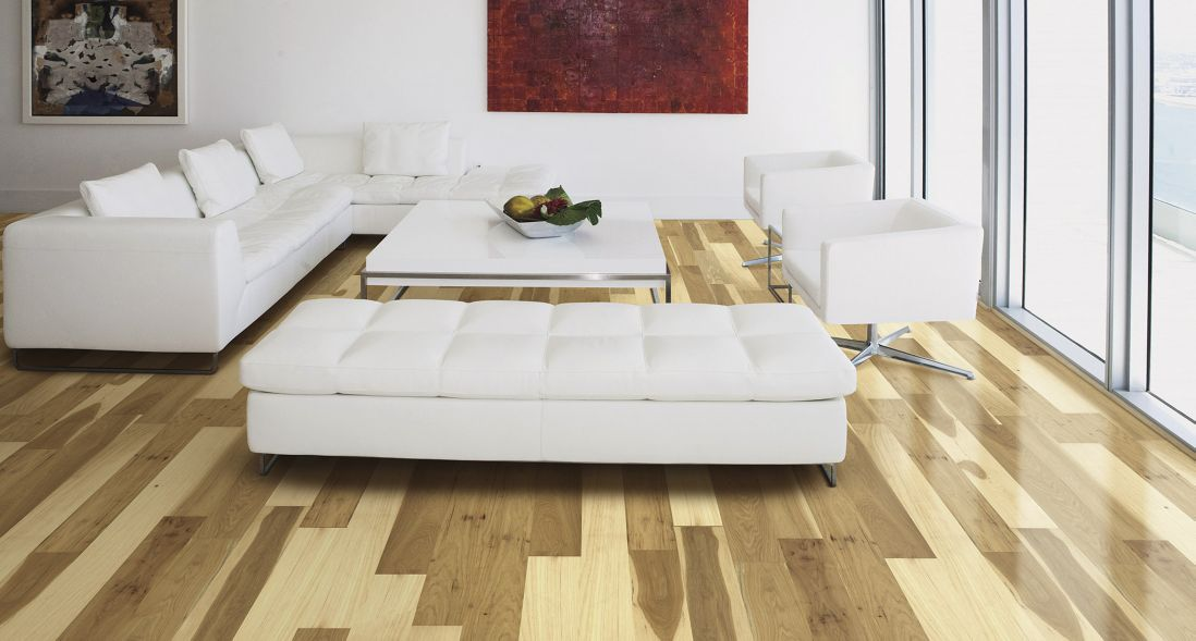 Pergo American Era - Handscraped Natural Hickory - Hardwood