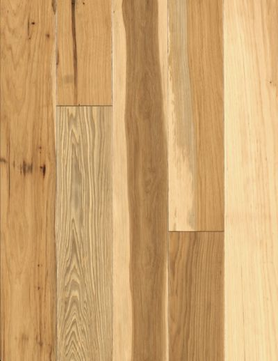 Handscraped Natural Hickory