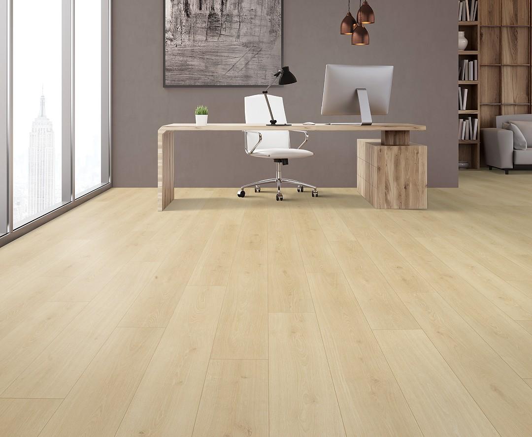 Bleached Linen Laminate Wood Flooring