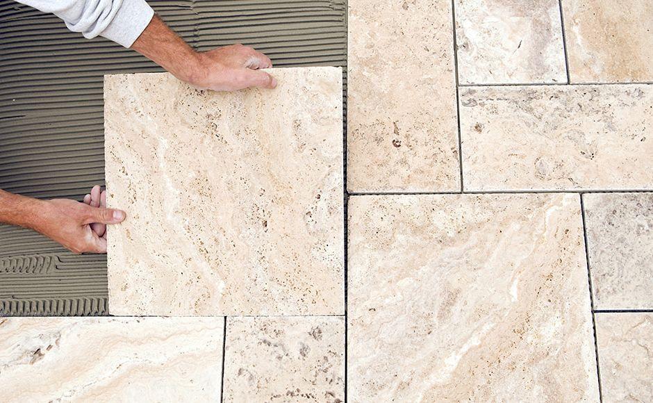 Trouve Montage Grey Tile Flooring Mohawk Flooring