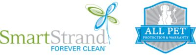 Smart Strand forever clean. All Pet protection and warranty