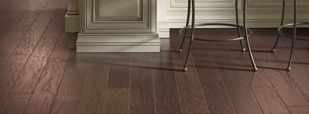 Anchorage Hickory Hickory Coffee Bean Hardwood Flooring
