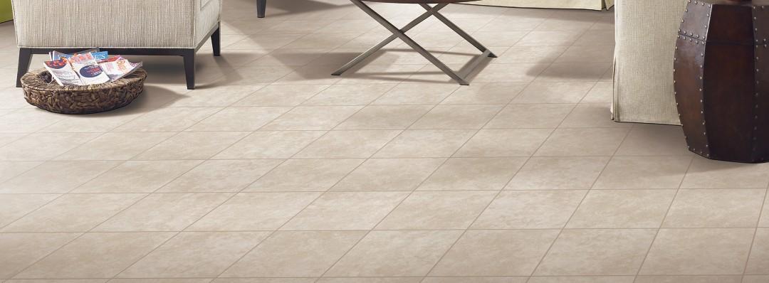 Andela Floor, Cream Tile Flooring | Mohawk Flooring